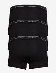 Calvin Klein - TRUNK 3PK - boxershorts - black/black/black - 2