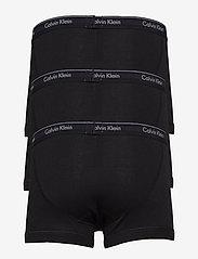 Calvin Klein - TRUNK 3PK - boxershorts - black/black/black - 1
