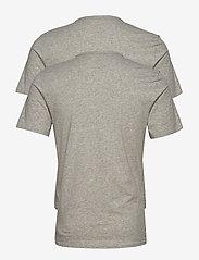 Calvin Klein - S/S CREW NECK 2PK - multipack - black / grey heather - 1