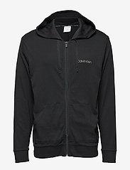 Calvin Klein - FULL ZIP SWEATSHIRT - hoodies - black - 0
