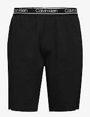 Calvin Klein - SLEEP SHORT - bottoms - black - 0