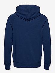 Calvin Klein - FULL ZIP HOODIE - basic sweatshirts - perth blue - 1
