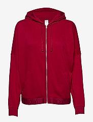 Calvin Klein - FULL ZIP HOODIE - hoodies - ember blaze - 0