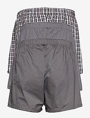 Calvin Klein - BOXER WVN 3PK - boxershorts - grey sky/glen plaid/matthew st - 1