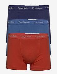 Calvin Klein - TRUNK 3PK - boxershorts - minnow/ horoscope/ inferno - 0