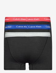 Calvin Klein - TRUNK 3PK - bokseršorti - b- royalty/ grey h/ exotic coral - 1
