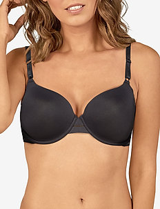 T-SHIRT BRA - t-shirt bras - black