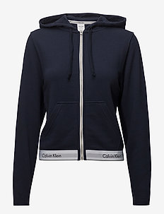 TOP HOODIE FULL ZIP - SHORELINE