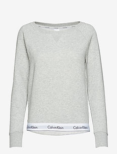 TOP SWEATSHIRT LONG SLEEVE - overdele - grey heather