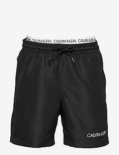 MEDIUM DOUBLE WAISTBAND - PVH BLACK