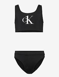 BRALETTE BIKINI SET - bikinis - pvh black