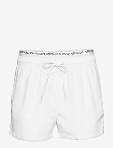 SHORT DOUBLE WAISTBA - WHITE