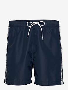 MEDIUM DRAWSTRING - swim shorts - black iris