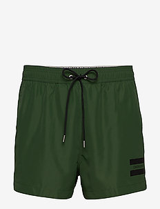 SHORT DRAWSTRING - swim shorts - dark green