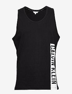 CREW TANK - sleeveless shirts - pvh black