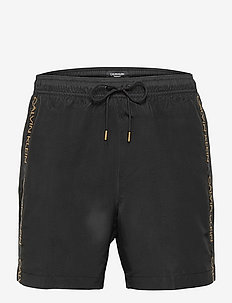 MEDIUM DRAWSTRING - shorts de bain - pvh black