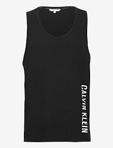 RELAXED CREW TANK - tank tops - pvh black