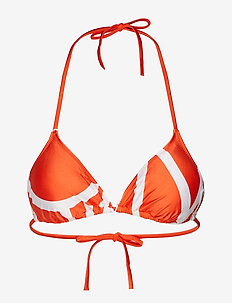 TRIANGLE-RP - KLEIN ABSTRACT MANDARIN RED