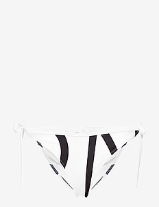 STRING SIDE TIE - KLEIN ABSTRACT WHITE