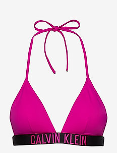 FIXED TRIANGLE-RP - bikinitopper - pink glo