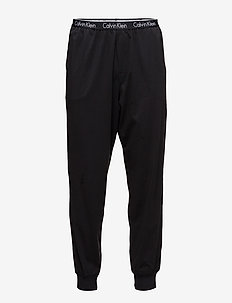 PANT CUFFED - bottoms - black