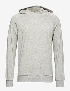 L/S HOODIE - hoodies - grey heather