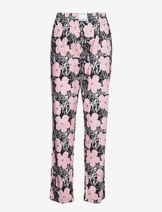 SLEEP PANT (UNISEX) - AWH_FLOWERS LIGHT PINK