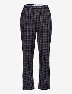 SLEEP PANT - pyjama's - fine plaid_black