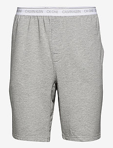 SLEEP SHORT - casual shorts - grey heather