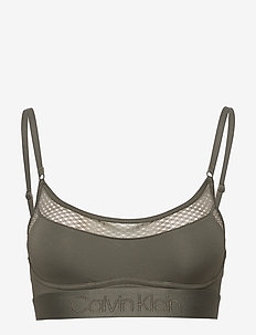 UNLINED BRALETTE - ARMY DUST