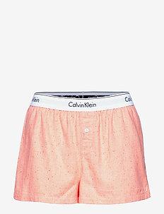 SLEEP SHORT - shorts - grapefruit heather