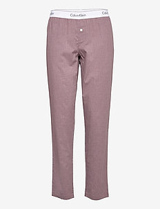 SLEEP PANT - broeken - plum dust heather