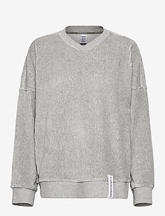L/S SWEATSHIRT - GREY HEATHER