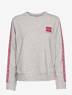 L/S SWEATSHIRT - sweatshirts - grey heather