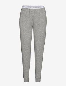 JOGGER - bottoms - grey heather