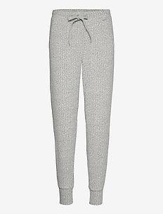 JOGGER - püksid - grey heather