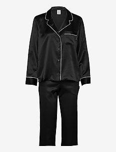 L/S PANT SET - pyjama''s - black