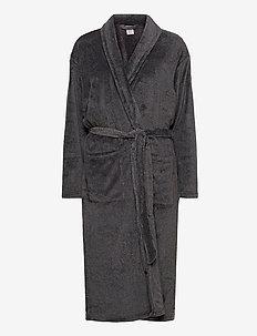 ROBE - bathrobes - black