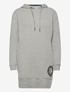 L/S NIGHTSHIRT (HOODIE) - hoodies - grey heather