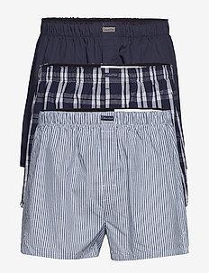 BOXER WVN 3PK - boxers - tide/morgan plaid/montague str