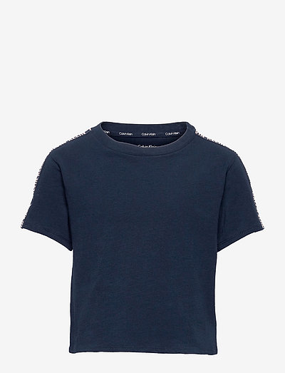 TOP - t-shirts - navy iris