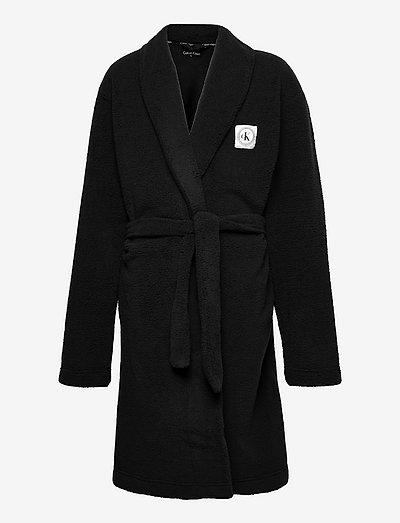 BATHROBE - ondergoed & nachtkleding - pvh black