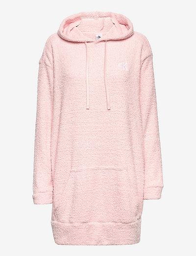 L/S HOODIE - hættetrøjer - barely pink