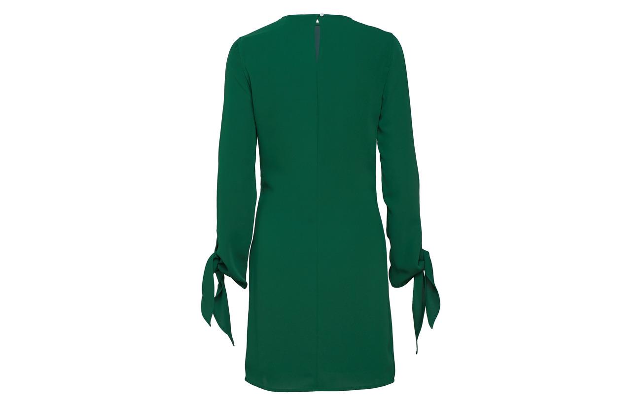 Calvin Tie Dress Ls Polyester Klein Cuff 100 Green 7rxn57wUq