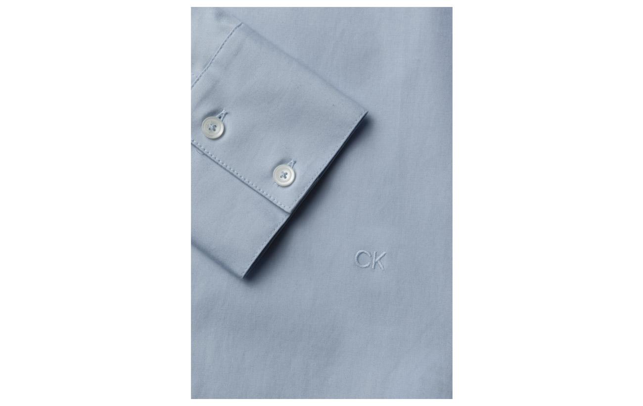 98 Calvin Frill Blue Stretch Coton Klein Elastane Detail Light 2 qxBAFwvxYP