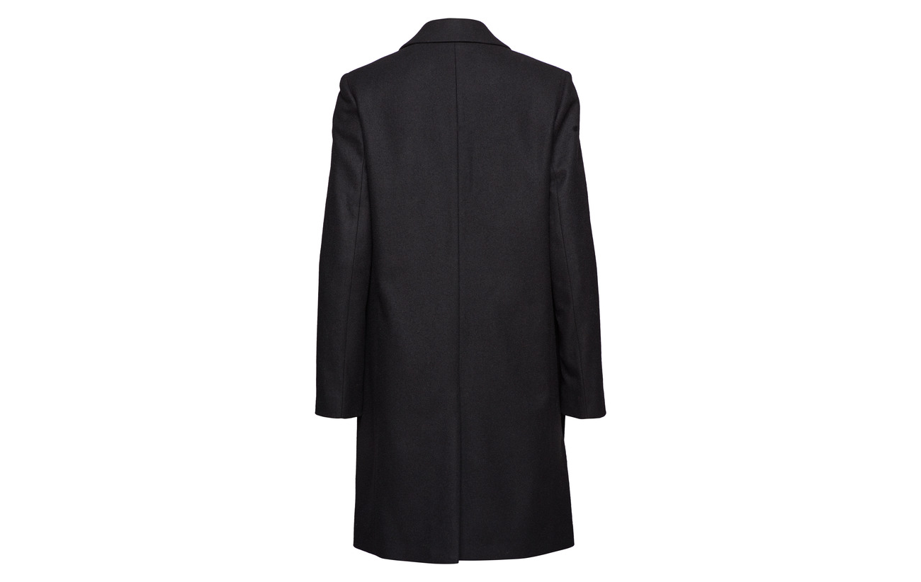 Laine Perfect Crombie Polyamide 30 Black 70 Calvin Coat Klein 0 Wool 8TxqZ16Bw