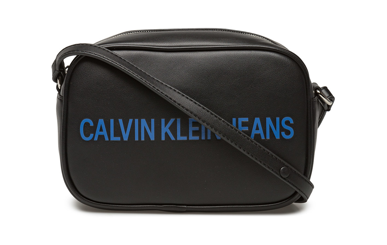 Calvin Camera Polyurethane Sculpted Black 100 Klein Ckj Bag 11zPAq