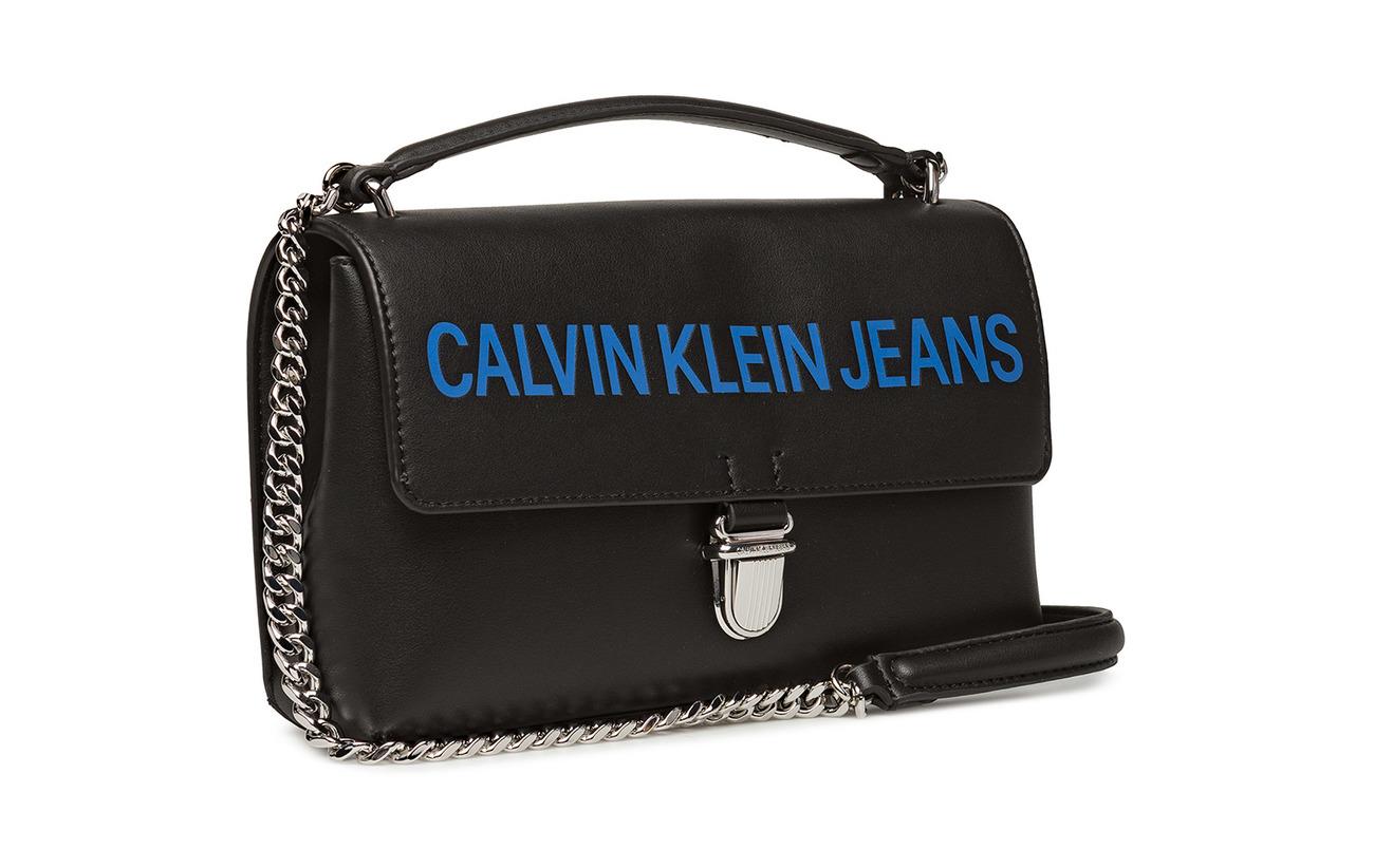 Ew Klein Logo Polyurethane 13 Sculpted 100 Flap Calvin 5 Black CXnwTgwq