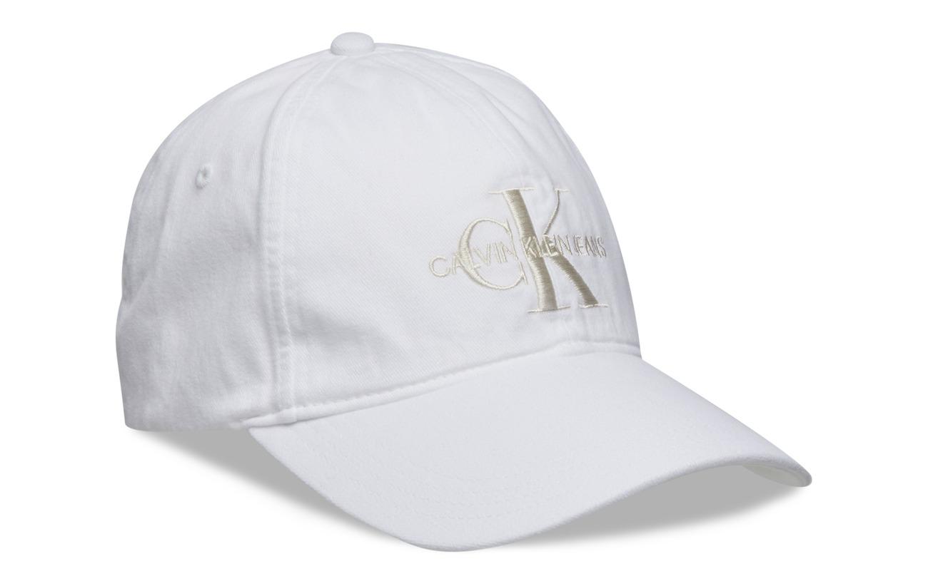 J Mbright Klein Monogram WhiteCalvin Cap 3FTlc1JK