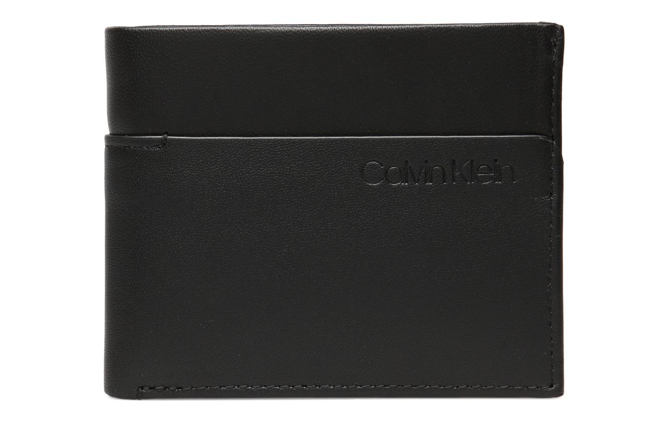 Calvin Klein SLIVER SLIMFOLD 6CC - BLACK/STEEL BLUE